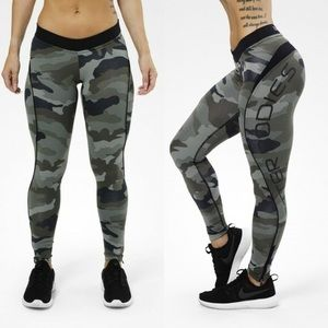 Better Bodies Camo Fitness Leggings / Tights